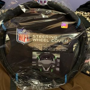 tennessee titans nfl car steering wheel cover